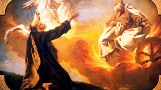 PIAZZETTA Giovanni Battista | Elijah Taken Up in the Chariot of Fire. | | Italian | Baroque